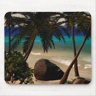 Beautiful island mousepad