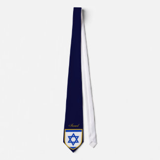 Beautiful Israel Flag Tie