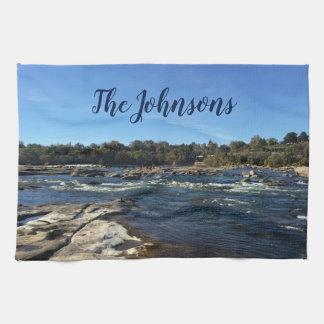 Beautiful James River Tea Towel