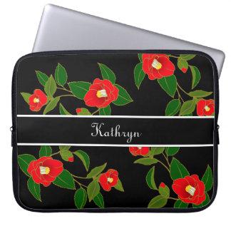 Beautiful Japanese Flowers Laptop Sleeve
