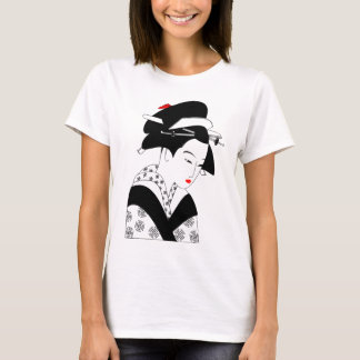 BEAUTIFUL Japanese Girl Graphic TEE