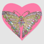 Beautiful Jewelled Butterfly