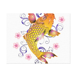 Beautiful Koi Canvas Print