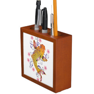 Beautiful Koi Desk Organiser