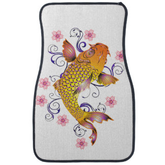 Beautiful Koi Floor Mat