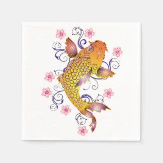Beautiful Koi Paper Napkin