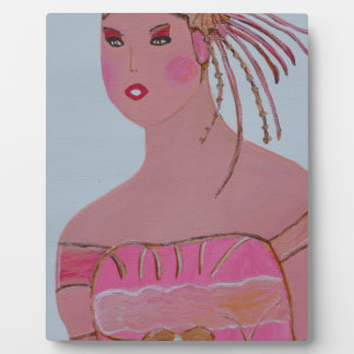 Beautiful Lady 3.JPG Plaque