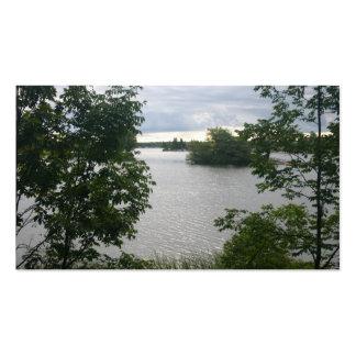 Beautiful Lake Business Card
