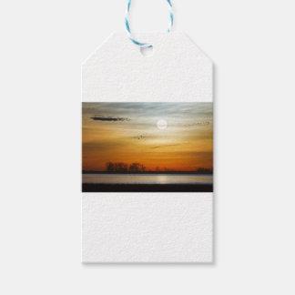Beautiful Lake Morning Gift Tags