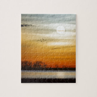 Beautiful Lake Morning Jigsaw Puzzle