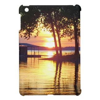 Beautiful Lake Sunset Water Reflection Photography iPad Mini Cases