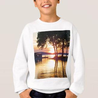 Beautiful Lake Sunset Water Reflection Photography Sweatshirt
