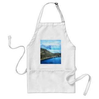 BEAUTIFUL LAKE TAHOE ADULT APRON