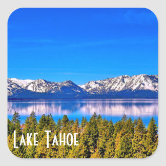 BEAUTIFUL LAKE TAHOE GLOSSY STICKER