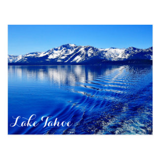 BEAUTIFUL LAKE TAHOE POSTCARD