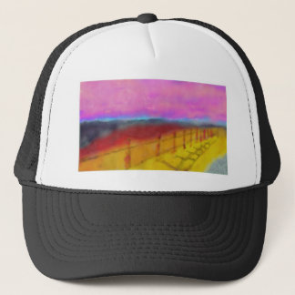 Beautiful Land Art Trucker Hat