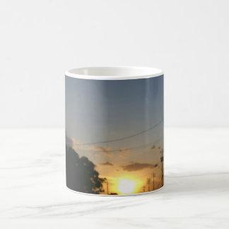 Beautiful Landscape and sun set Mug