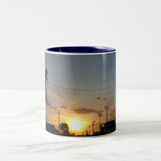Beautiful Landscape and sun set Mugs