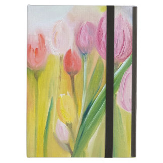 Beautiful landscape flowers tulips case for iPad air