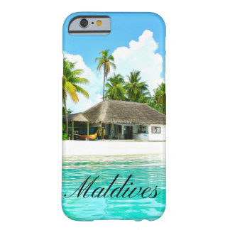 Beautiful Landscape Of Maldives Barely There iPhone 6 Case