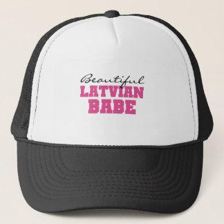 Beautiful Latvian Babe Trucker Hat