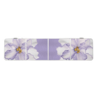 Beautiful Lavender Orchid Beer Pong Table
