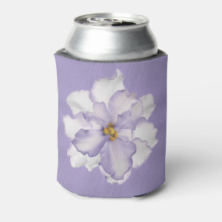 Beautiful Lavender Orchid Can Cooler