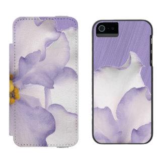 Beautiful Lavender Orchid Incipio Watson™ iPhone 5 Wallet Case