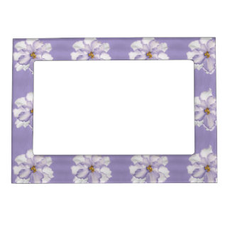 Beautiful Lavender Orchid Magnetic Picture Frame