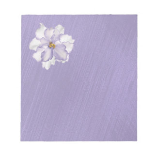 Beautiful Lavender Orchid Notepad