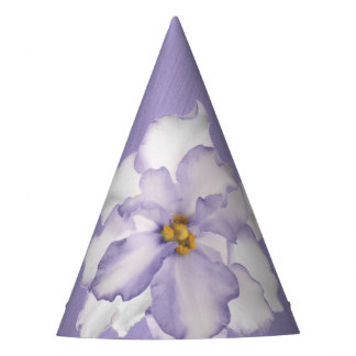 Beautiful Lavender Orchid Party Hat
