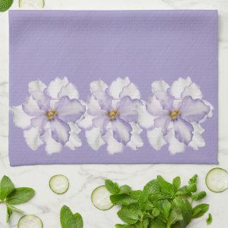Beautiful Lavender Orchid Tea Towel