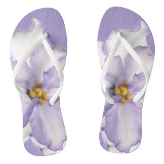Beautiful Lavender Orchid Thongs