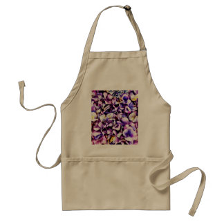 Beautiful Lavender Purple Hydrangea Flower Petals Apron