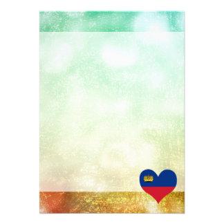 Beautiful Liechtensteiner 13 Cm X 18 Cm Invitation Card