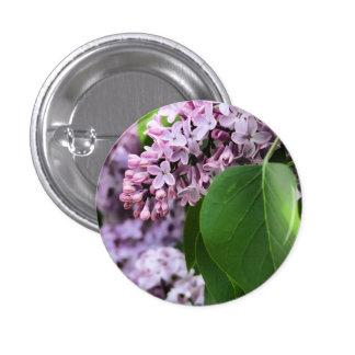Beautiful Lilac Round Button