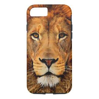 Beautiful Lion Head Oil Art Painting Art iPhone 8/7 Case