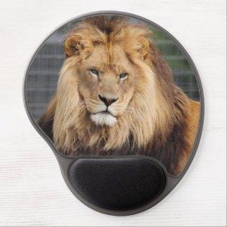 Beautiful Lion on a Gel Mousepad