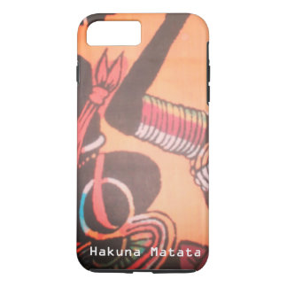 Beautiful Lovely Kenya Maasai Hakuna Matata iPhone 8 Plus/7 Plus Case