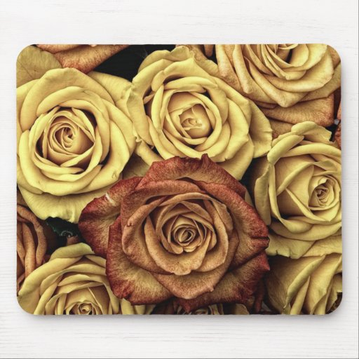 beautiful luxury roses mouse pad