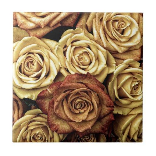 beautiful luxury roses tiles