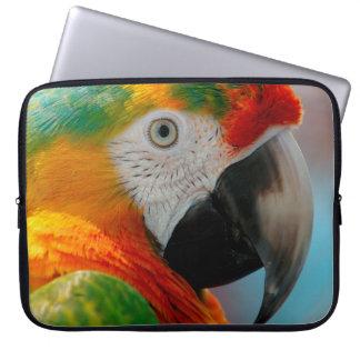 Beautiful Macaw Laptop Sleeve