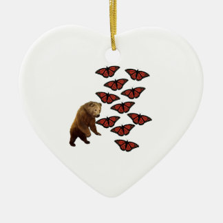 Beautiful Madness Ceramic Heart Decoration