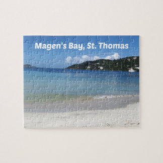 Beautiful Magen's Bay, St. Thomas Puzzles