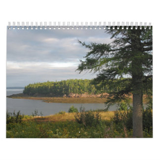 Beautiful Maine Coast Wall Calendars