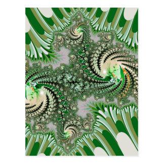 Beautiful mandelbrot fractal postcard