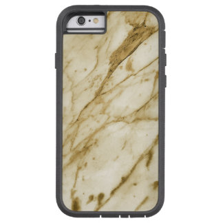 Beautiful Marble Texture (Grey Orange) Tough Xtreme iPhone 6 Case