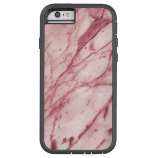 Beautiful Marble Texture (Grey Red) Tough Xtreme iPhone 6 Case