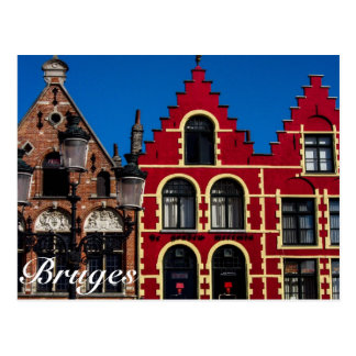 Beautiful Markt Square of Bruges Postcard