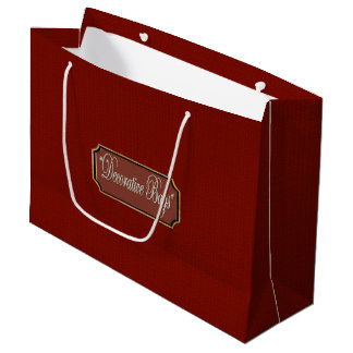 Beautiful Maroon Large Gift Bag